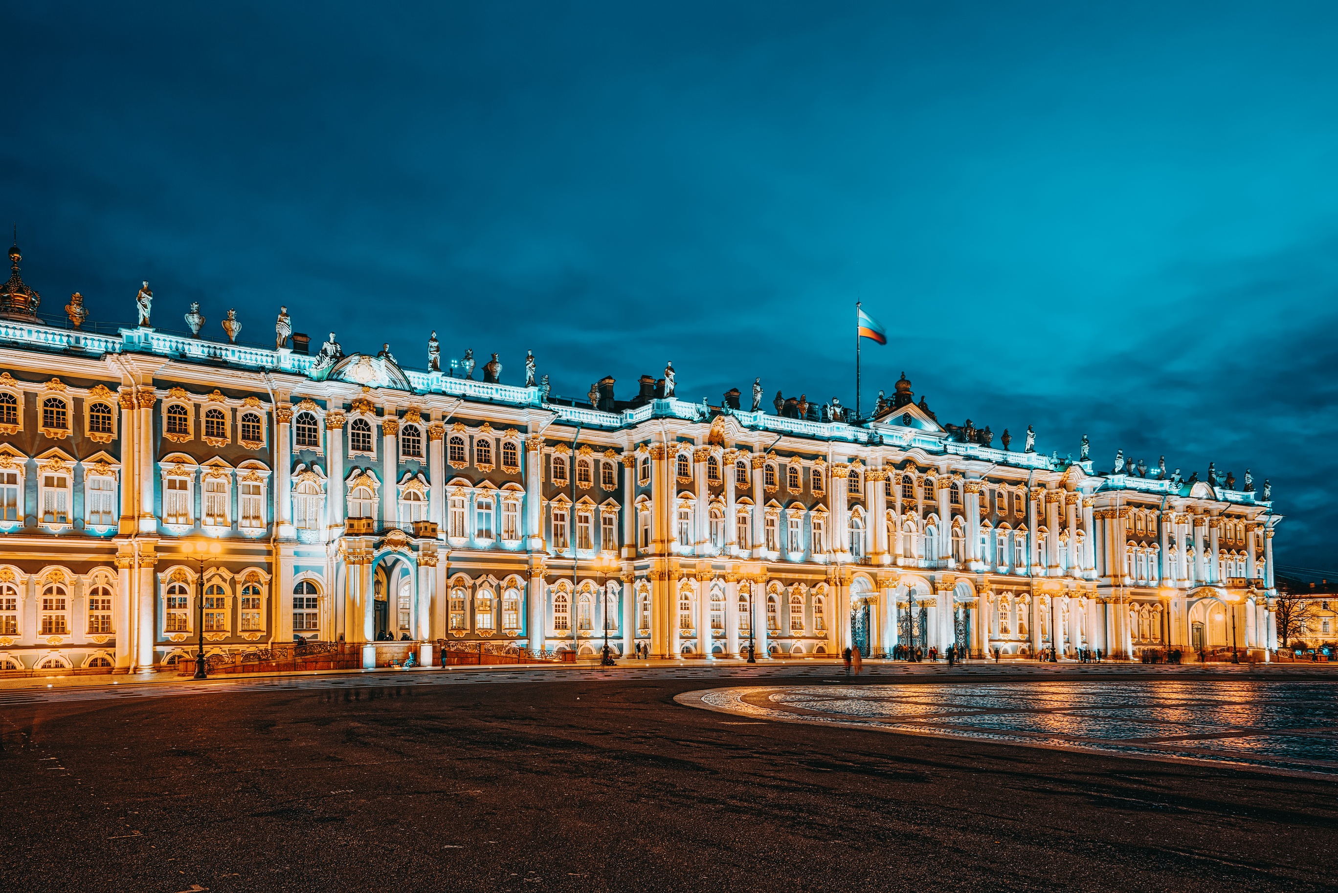 The White Lights in St Petersburg