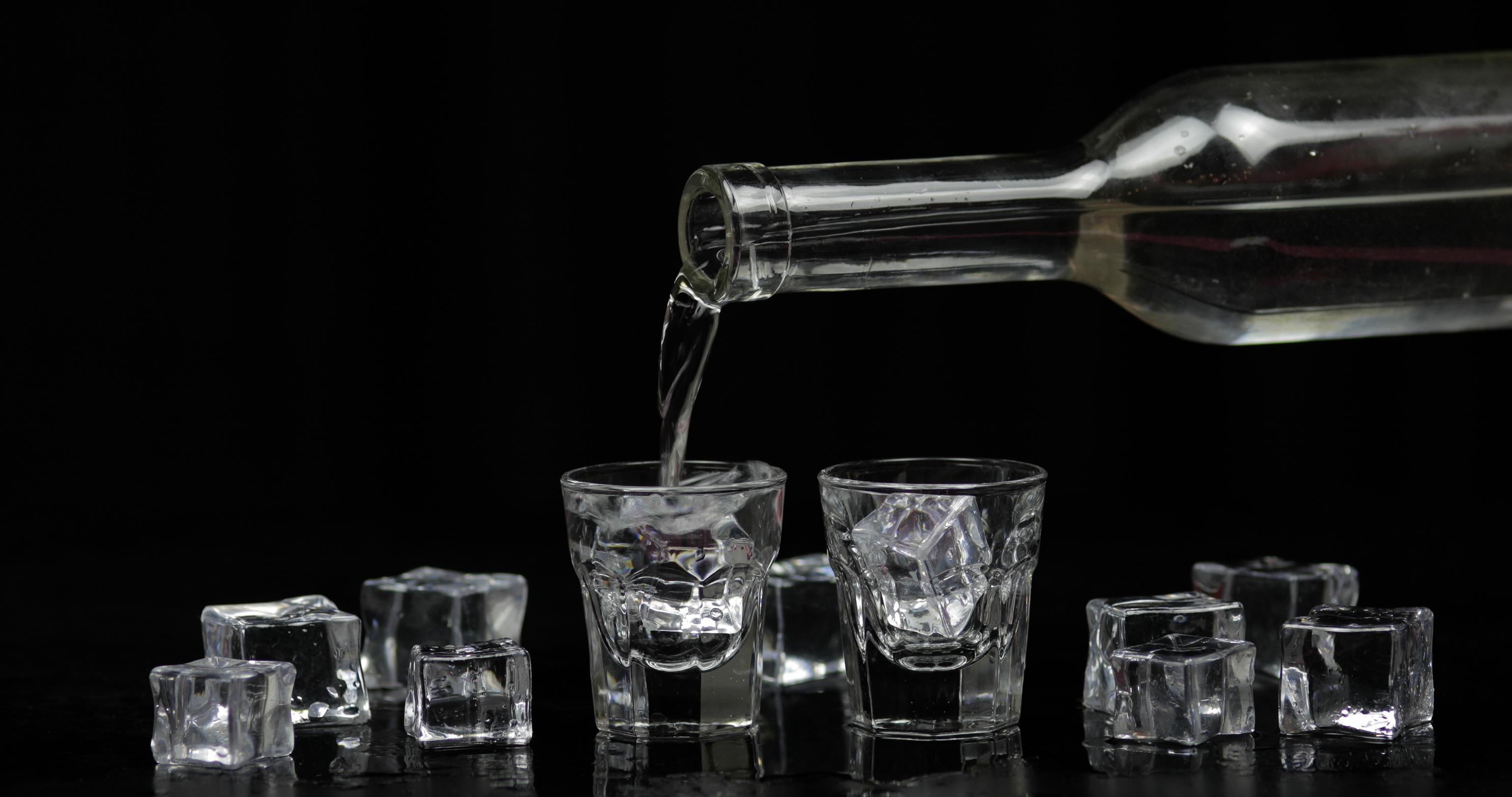 Classic Russian vodka