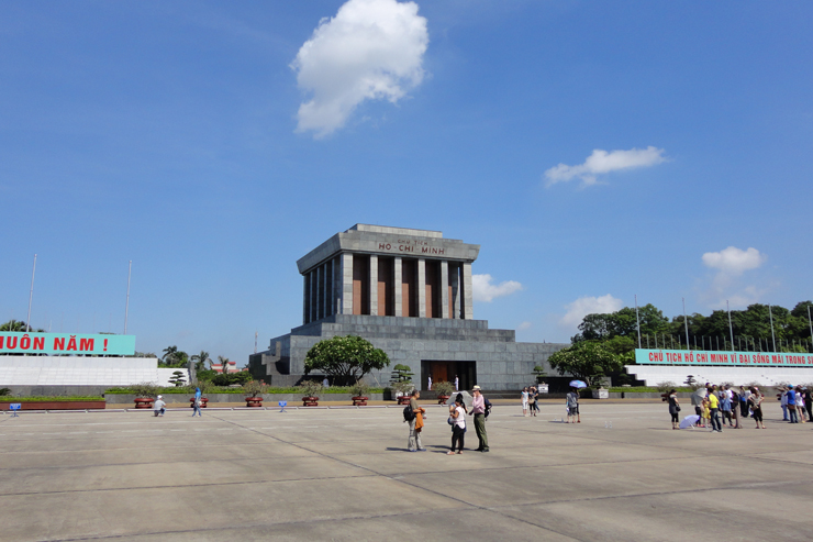 Ho Chi Minh Mausoleum - Hanoi - Vietnam tours