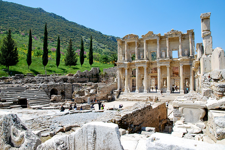 Ephesus, Turkey - best places to visit in the world