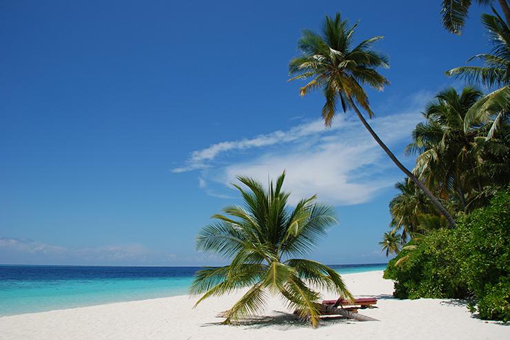 Maldives beach - Valentine's ideas