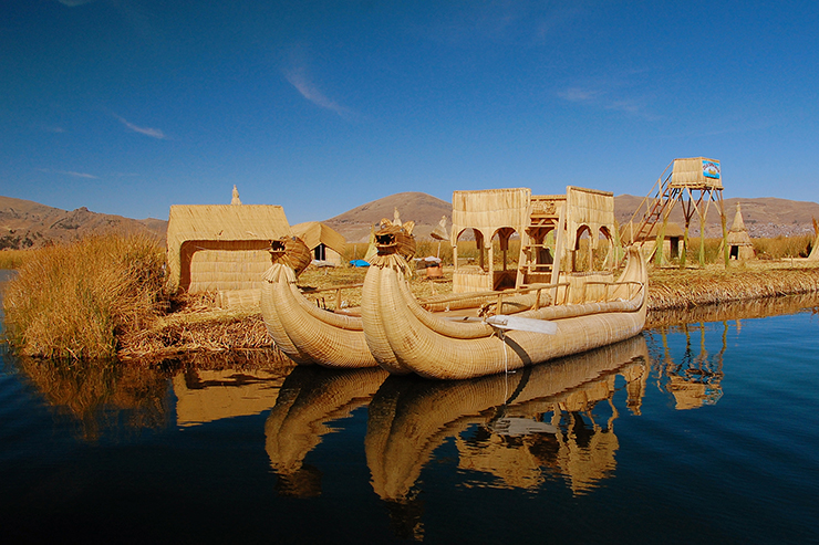 Uros Islands, Lake Titicaca - best places to visit in the world