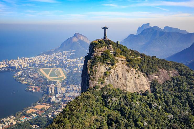 Christ the Redeemer, Rio de Janeiro - when will international travel resume.