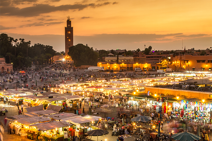 Djemaa el Fna - facts about Marrakech