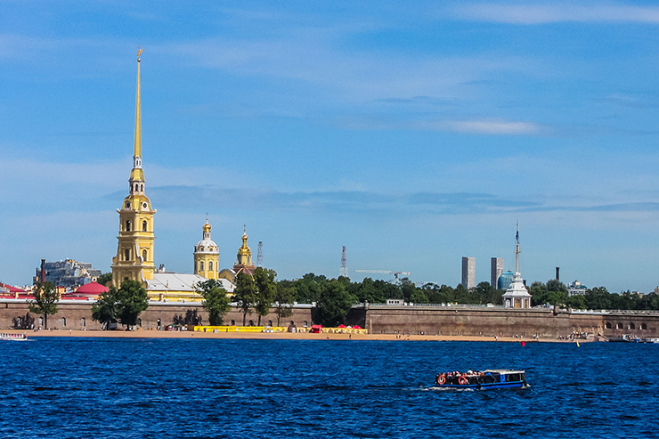 Peter and Paul Cathedral is one of the most famous churches in St Petersburg