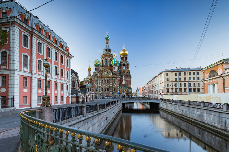 Nhà thờ Chúa Cứu thế trên Máu đổ, St Petersburg, Nga