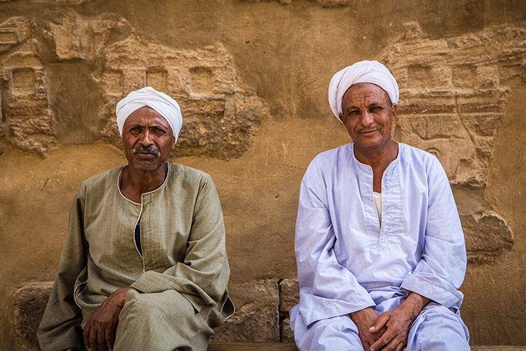 Locals are often happy to stop for a chat and help you learn a foreign language