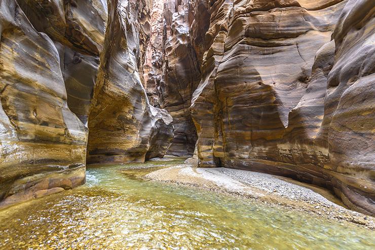 Wadi Mujib canyon - Jordan