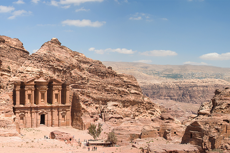 Petra's Monastery is sure to be a highlight of any Jordan travel