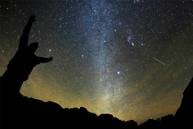 Travel to Jordan to coincide with the annual Perseids meteor shower in August