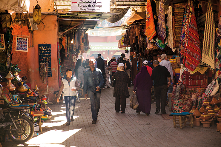 The Easter holidays are a great time to visit Marrakech, with markets open for business and the weather warm but not stiflingly hot