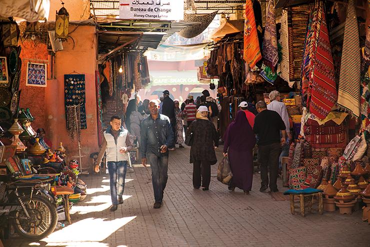 Những ngày lễ Phục sinh là thời điểm tuyệt vời để đến thăm Marrakech, với các khu chợ mở cửa kinh doanh và thời tiết ấm áp nhưng không quá nóng bức
