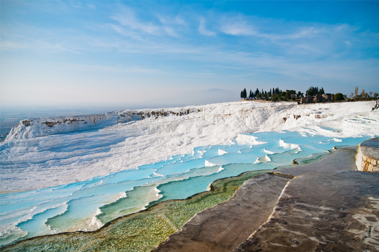 Pamukkale, Turkey offers one of the best views in the world