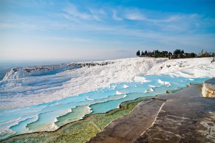 Pamukkale, Thổ Nhĩ Kỳ cung cấp một trong những quang cảnh đẹp nhất trên thế giới