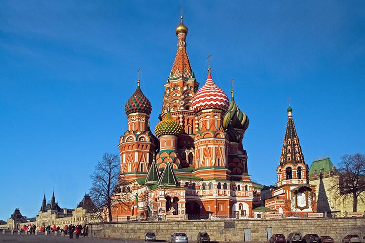 Nhà thờ St Basil ở Moscow, Nga