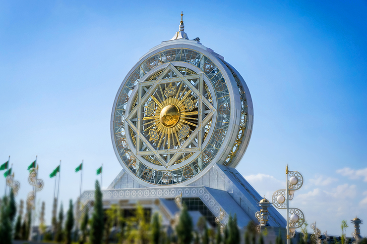 Ashgabat, Turkmenistan is one of the oddest capital cities of the world, home to this indoor Ferris wheel