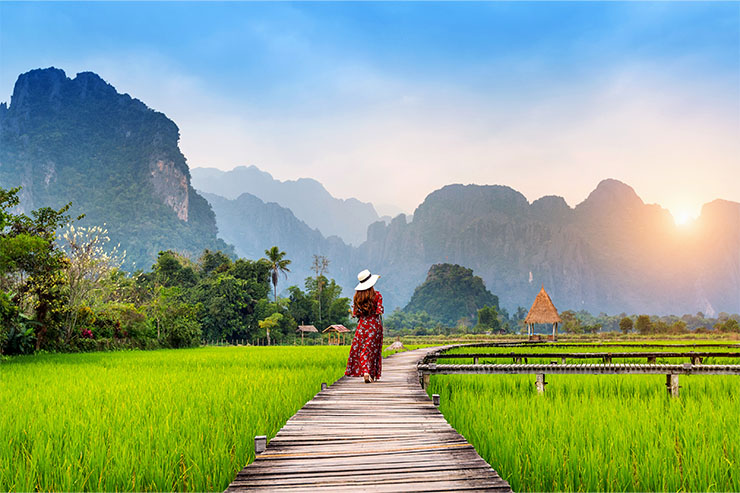 The tranquillity of Laos makes it a perfect destination for a wellness break