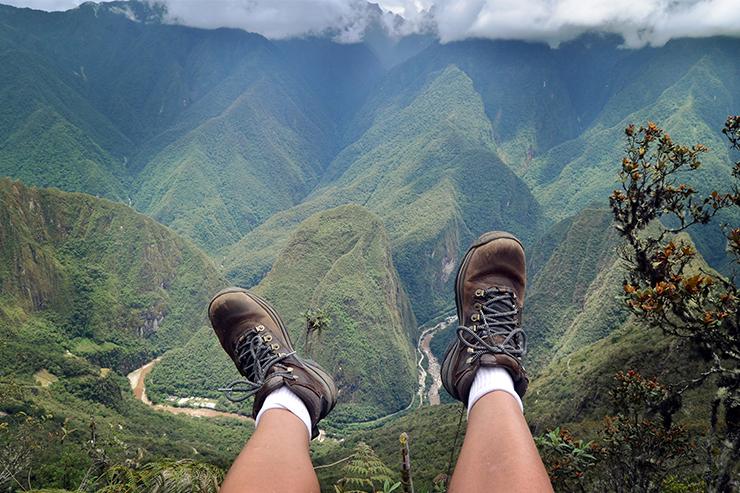 Trekking in Peru makes for a great wellness break