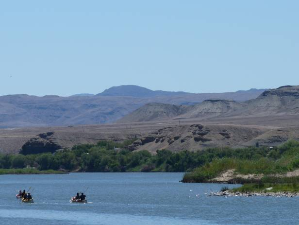A peaceful day on the Gariep (Orange) River