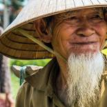 Meet local Vietnamese villagers on our Vietnam Tours