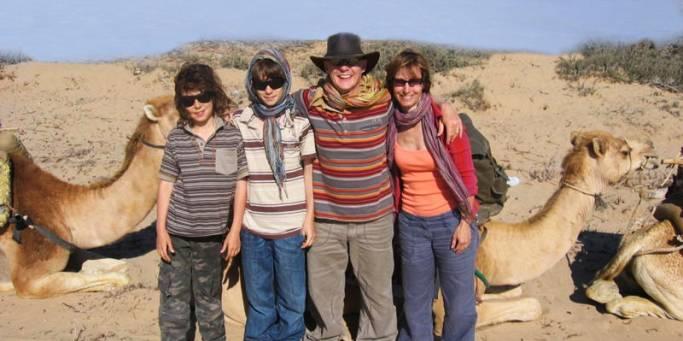 Family camel trekking | Morocco