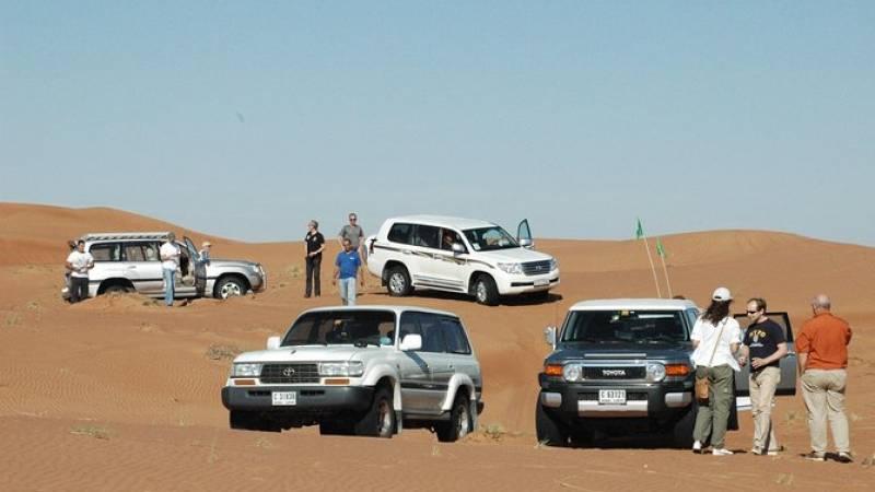 Desert 4x4 Safari, Complimentary ATV ride, Camel Ride, BBQ Dinner & Live Shows
