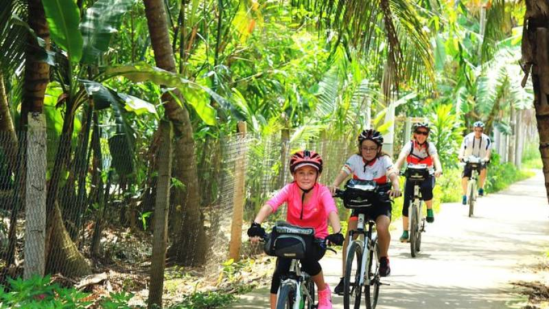 Full-Day Mekong Delta Bike Tour from Ho Chi Minh City