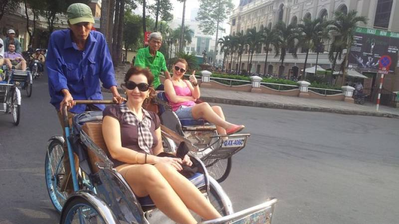 Ho Chi Minh City Shore Excursion: Private City Tour Including Cyclo Ride