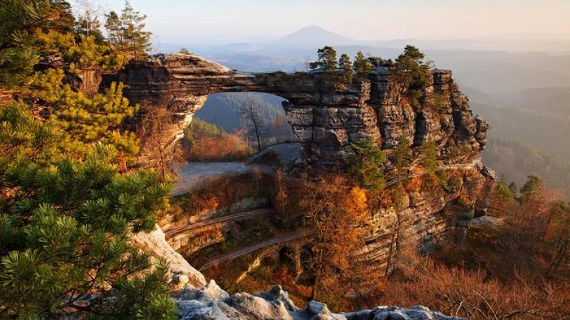 Best Rated - Bohemian and Saxon Switzerland National Park Day Trip from Prague