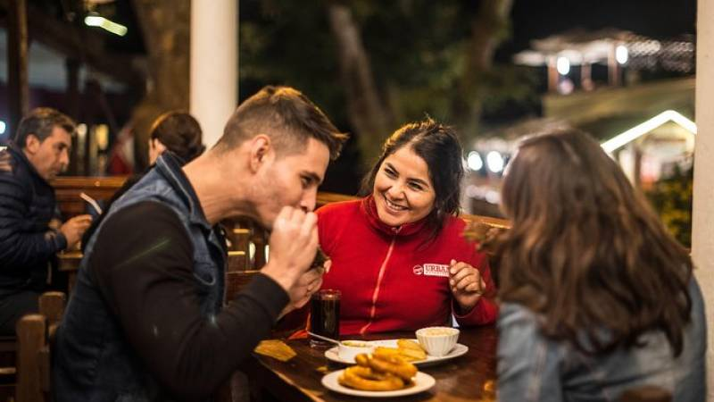 Lonely Planet Experiences: Lima Local Food and Drinks Tour by Night