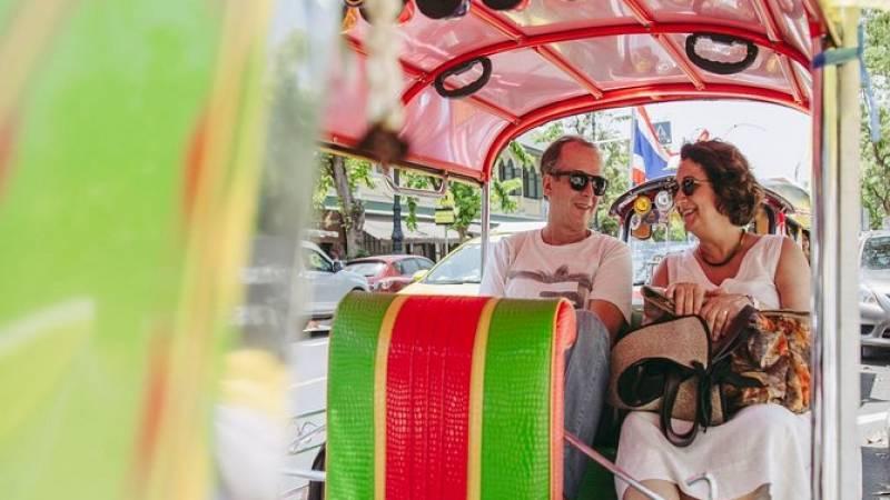 Old Bangkok Temples and Markets by Tuk Tuk