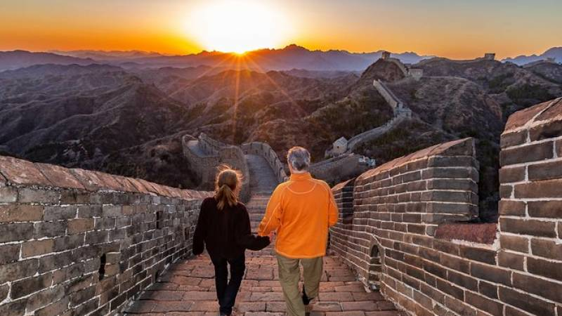 Great Wall at Gubeikou and Jinshanling Private Sunset Tour