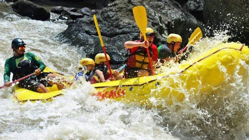 Whitewater Rafting on the Pacuare River in Costa Rica