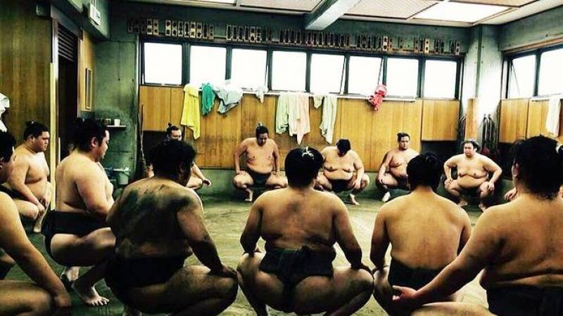 Watch Morning Practice at a Sumo Stable in Tokyo