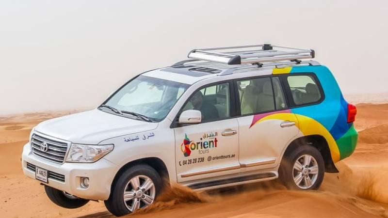 Dubai Desert 4x4 Safari with Camp activities, BBQ Dinner & Live shows