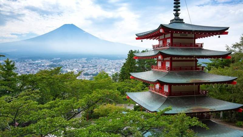 Scenic Spots of Mt Fuji and Lake Kawaguchi 1 Day Bus Tour