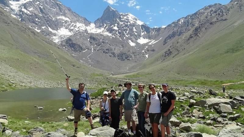 Glacier Hike at El Morado Glacier, from Santiago