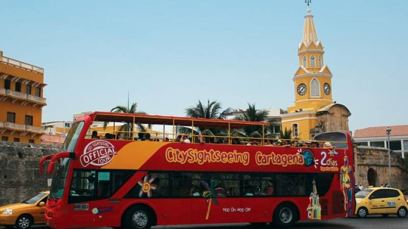 City Sightseeing Cartagena Hop-On Hop-Off Bus Tour Shore Excursion
