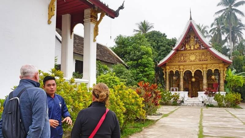 Cultural Temple Tour by Orange Robe Tours