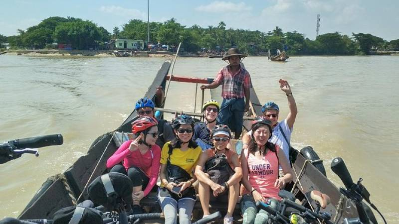 Island & Rivers - Yangon's most loved bike tour!