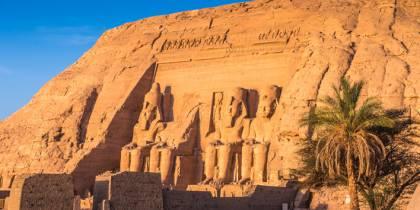 Abu Simbel Sun Festival page - menu tab image