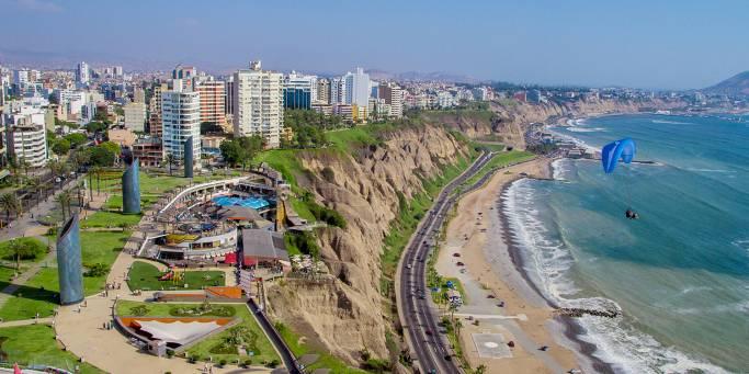The Miraflores District | Lima | Peru | South America