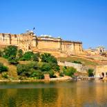 A stunning shot of the Amber Fort in Jaipur