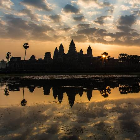 Angkor Temples Sunset  - Cambodia Tours - Southeast Asia Tours - On The Go Tours