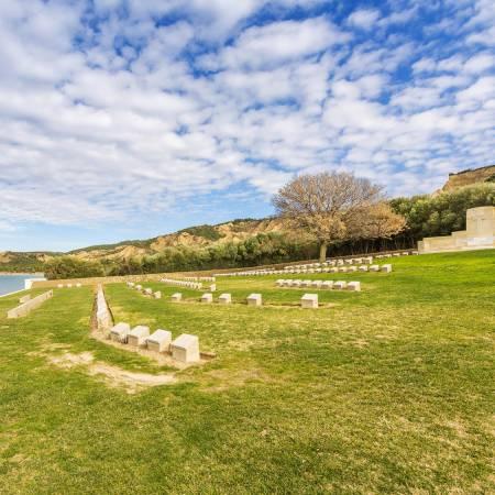 Anzac-Cove-Cemetery-Gallipoli