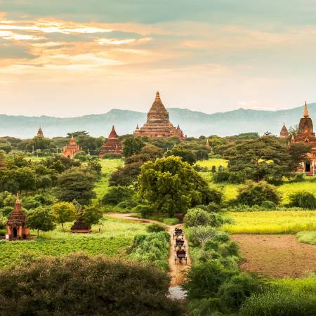 Bagan temples - Burma- Southeast Asia - On The Go Tours