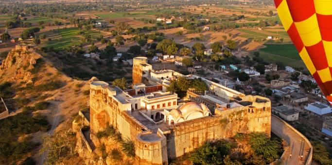 Hot air ballooning | Jaipur | India
