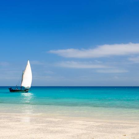 Beach in Mozambique- Mozambique - On The Go Tours