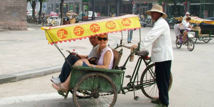 Rickshaw ride | Beijing | China