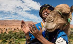 Berber-And-His-Camel-Morocco-tours-Morocco